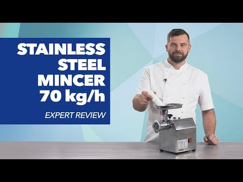Stainless Steel Mincer - 70 Kg/h - ECO