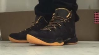 Jordan Melo M10 Playoff Tinker Sneaker Review  + On Foot With @DjDelz #Knickstape