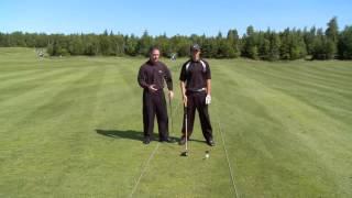 Урок гольфа онлайн - правильный удар драйвером
