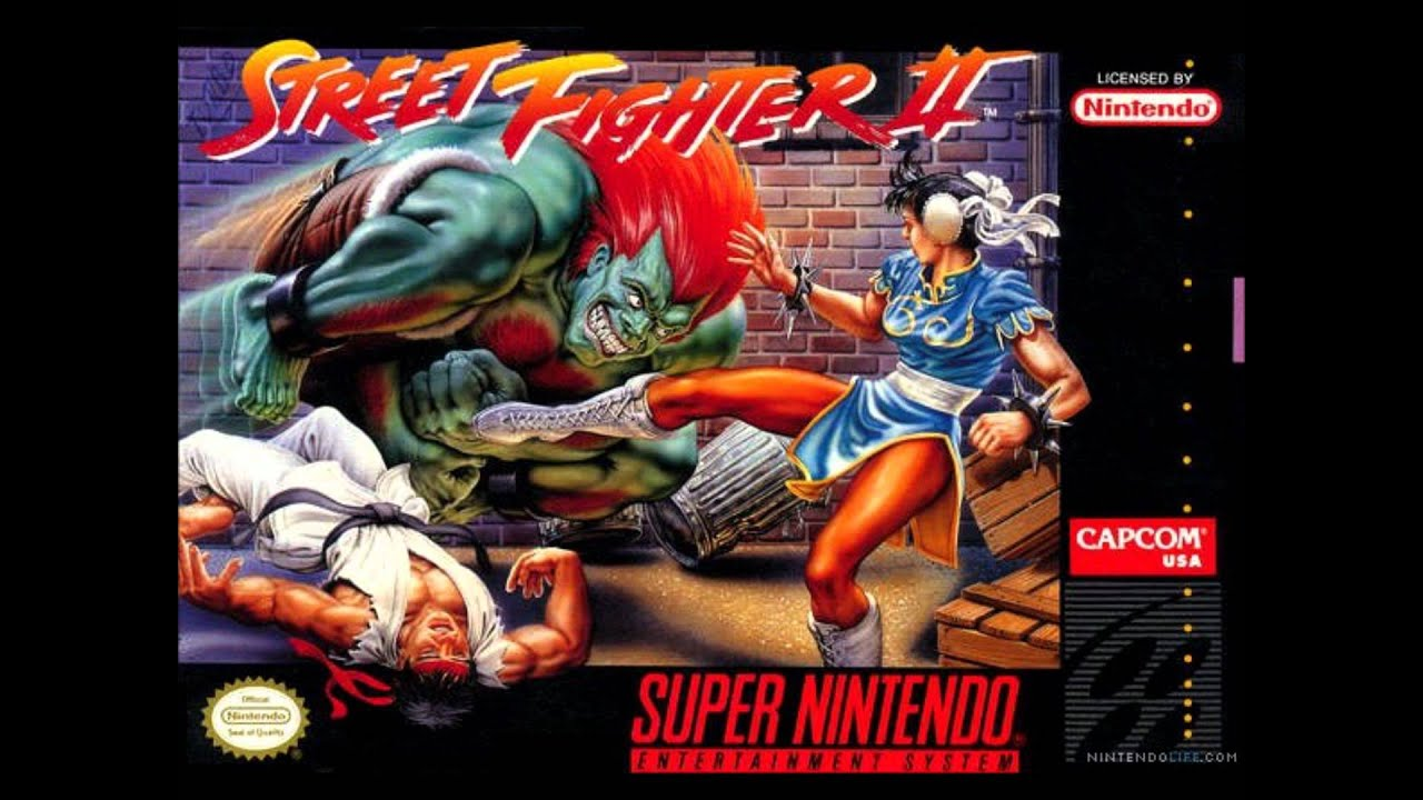 Street fighter II Signature moves - YouTube