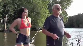 Jess & Lonnie go fishing for catfish and prehistoric gar