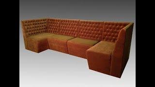Модульный мягкий диван в кафе(, 2017-07-31T13:50:53.000Z)
