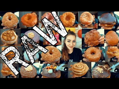 I ATE AS MANY DONUTS AS POSSIBLE | UNEDITED FOOTAGE