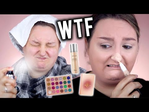 OMG WHAATT!? | FULL FACE FIRST IMPRESSIONS TESTING NEW MAKEUP