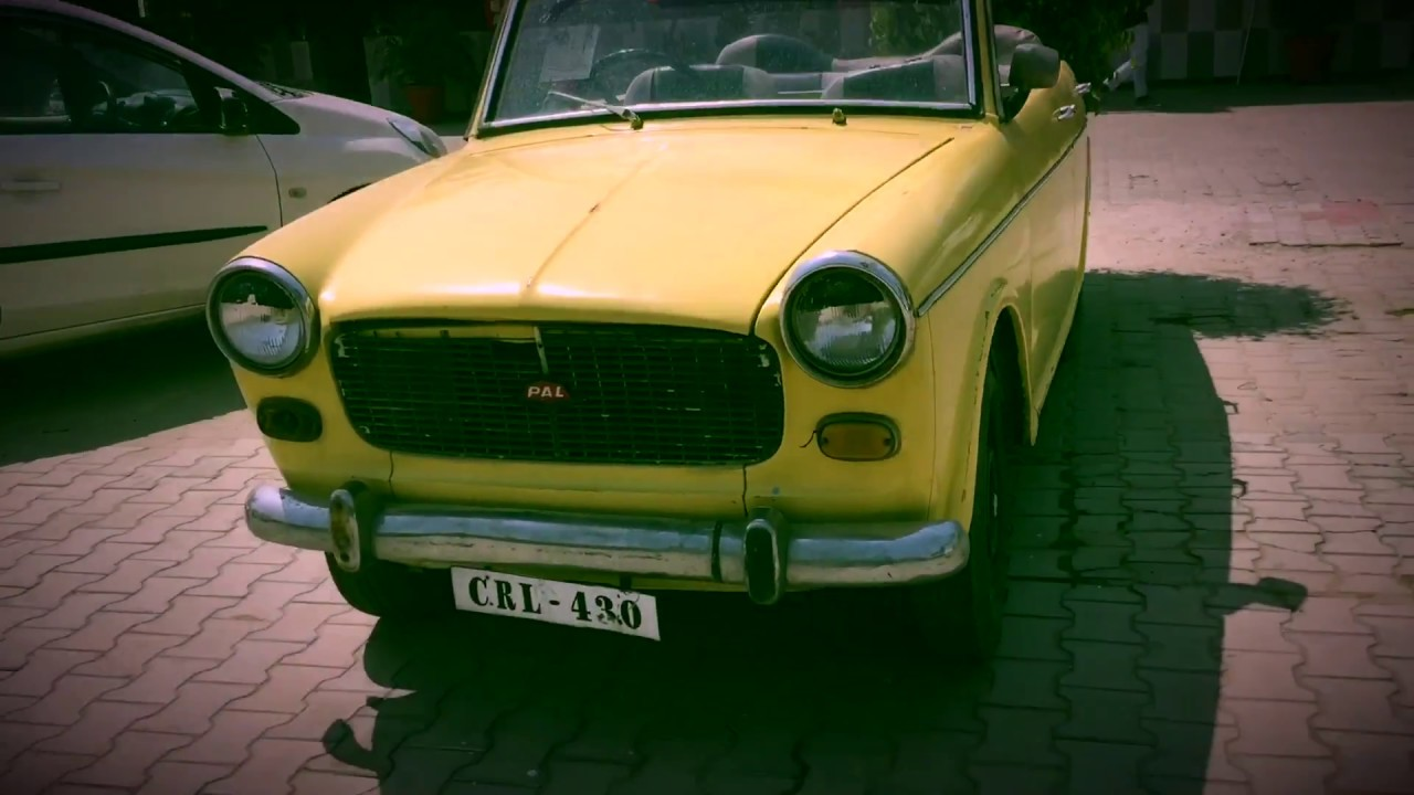 1973 Model India S First Fiat Car Vintage Youtube