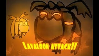 Lavaloon war attack!!-Clash of clans games