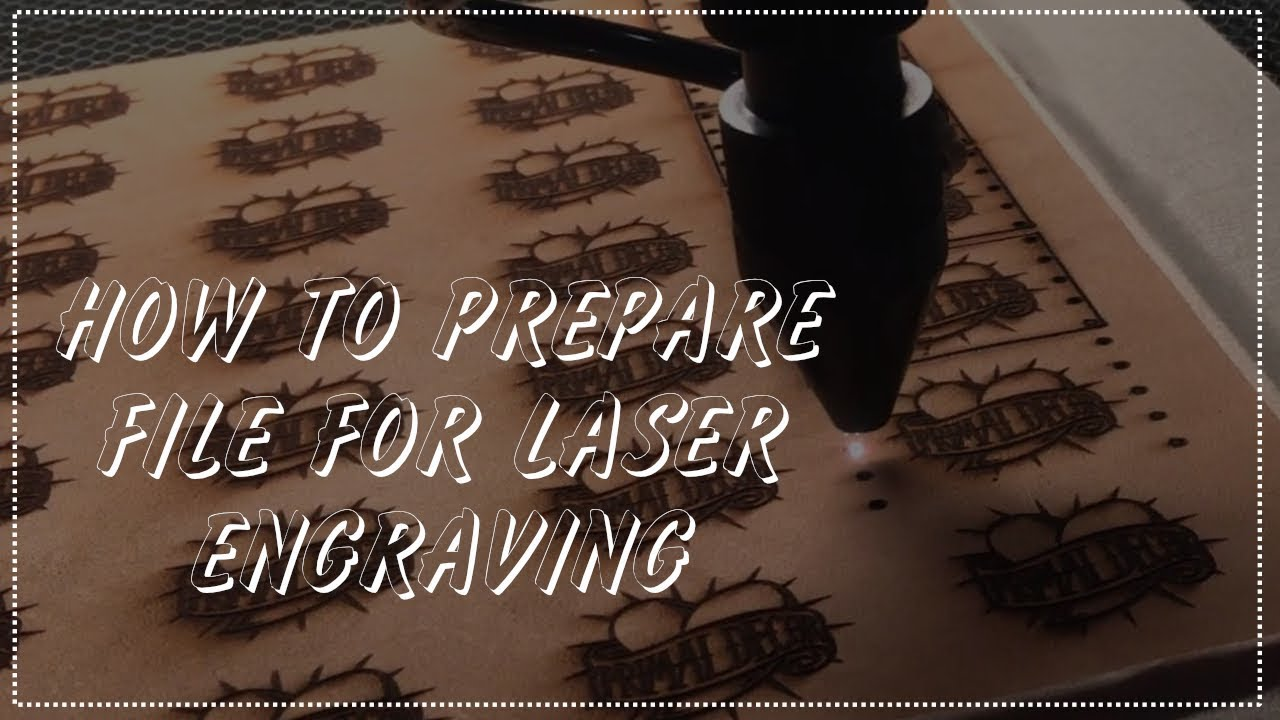 How to prepare Logo file to engrave in Laser machine