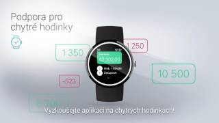 Vymáčkněte ze smartbankingu maximum - podpora pro chytré hodinky