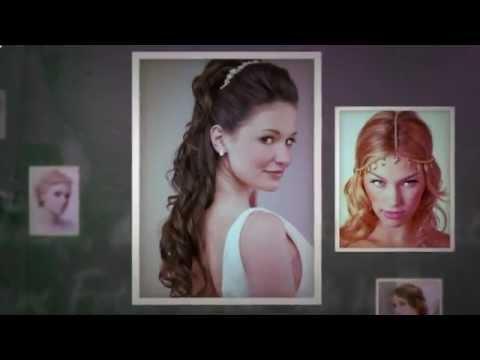 Причёска греческая (видео)