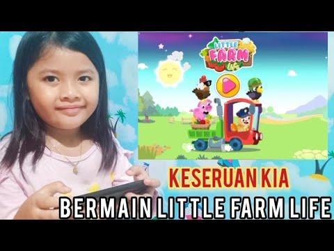 kia bermain game little farm life  