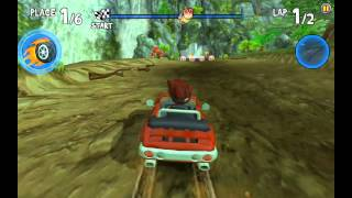 Beach Buggy Racing - Dino Jungle Secret Shortcut