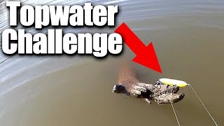Homemade Fishing Lure Challenge & The DIY Topwater Lure Rescue!
