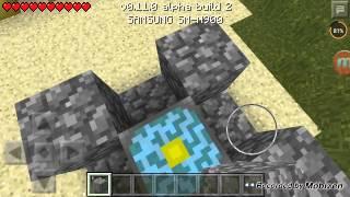Minecraft pe cehennem kapısı yapımı