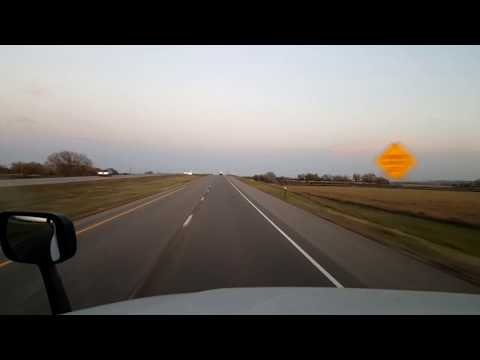 BigRigTravels LIVE! North Platte to Lexington, Nebraska Interstate 80 East Oct. 20, 2017