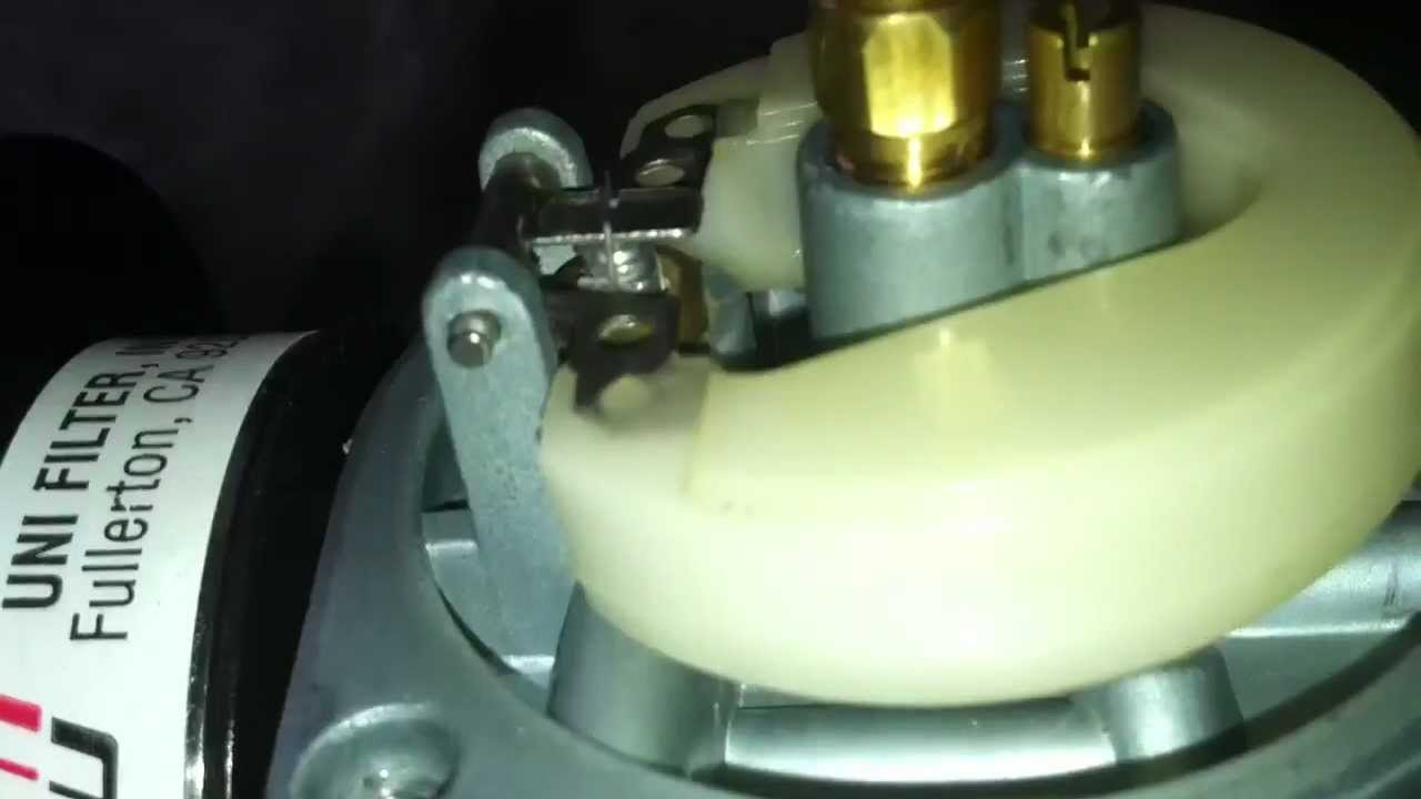 PBP Question: How to properly adjust the float to 10 degree