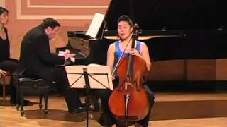 BEETHOVEN Cello Sonata No. 2: II. Rondo. Allegro (Deborah Pae, cello)
