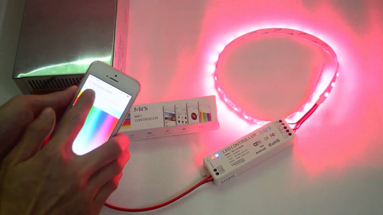 High end ltech wifi music mini led controller for every rgb flexible high end ltech wifi music mini led controller for every rgb flexible led strip lights mozeypictures Image collections