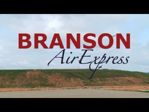 Branson Air Express Inaugural Flight