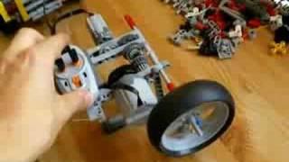 Lego Technic Day : Comment combiner deux moteurs (FR)