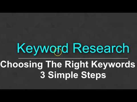 How To Choose Keywords For SEO & Better Google Rankings