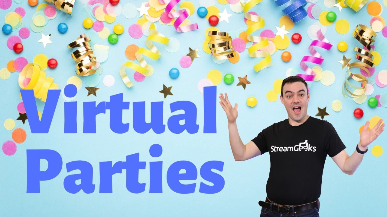 Hosting Virtual Parties with Live Trivia & Streaming It