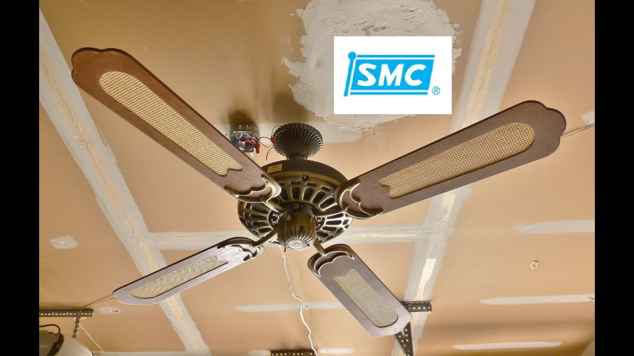 SMC A52 Ceiling Fan (Remake) - YouTube