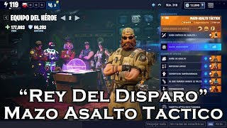 HERO TEAM MAZO TACTICO ASSAULT IN FORTNITE SAVE THE WORLD