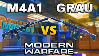 M4A1 vs Grau 5.56 Which Gun is More Overpowered | Modern Warfare Best Class Setups | JGOD