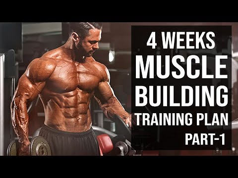 4-Weeks Muscle Building Training Plan