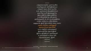 Annal Maelae Tamil Lyrical song