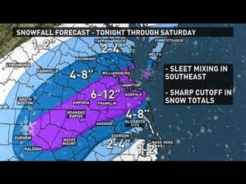 [AMHQ UPDATE] Verified blizzard warning in Virginia Beach