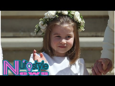 Princess Charlotte melts hearts all over the world with adorable moment at royal wedding