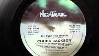 CHUCK JACKSON   ALL OVER THE WORLD