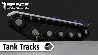 Space Engeeniers: Technic Corner 01 - Tank Tracks