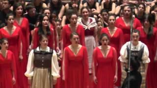 Jugendchor Jutz.ch/Schweiz & Jugendchor Bogazici Jazz Choir:  Suda Balik Qynuyor, EJCF Basel 2016