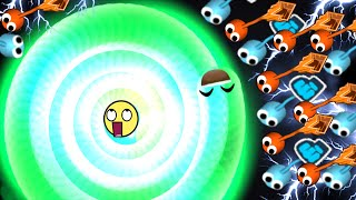 Slither.io - Lovely Jelly Skin Invasion | Slitherio Plays