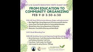 Day 2! NY NJ Climate Education Youth Summit