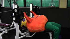 Obie hits the gym