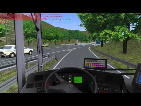 OMSI Joyride #95 - Great Grundorf 2 - Route A3 Airport Ground Transport - South Valley Hospital
