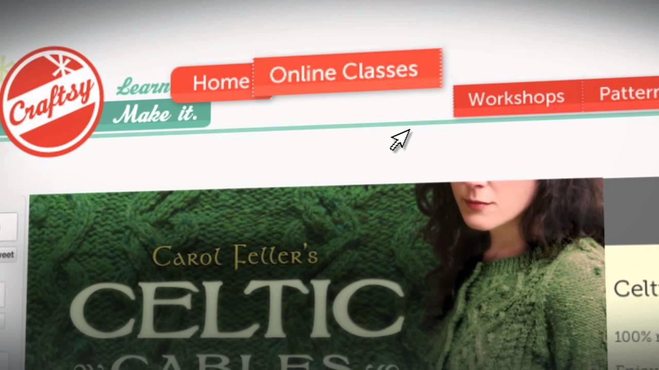 How to knit celtic cables an online knitting class with carol how to knit celtic cables an online knitting class with carol feller on craftsy bankloansurffo Image collections