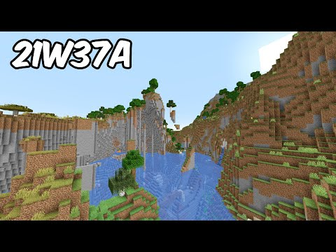Minecraft 1.18 Snapshot 21w37a - 8 NEW BIOMES!