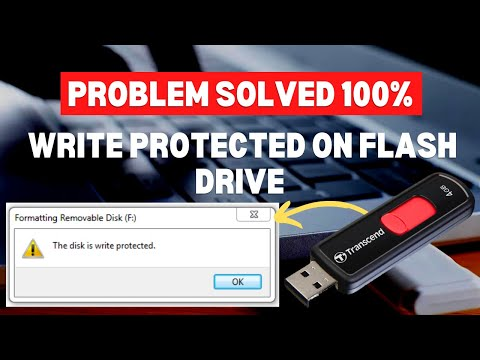 How To Remove Write Protection From USB Flash Drive 2019 | 6 Simple Methods | Write Protected