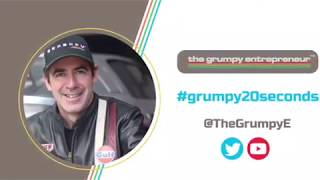 """""""It's not all about you on your deck"""" #grumpy20seconds The Grumpy Entrepreneur David Murray-Hundley"""