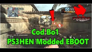 Cod Bo1 With RedBox Multiplayer Modded EBOOT PS3HEN 2019