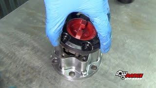 How To Rebuild A Toyota 4X4 Solid Front Axle (Part 7)  Aisin Locking Hub Rebuild