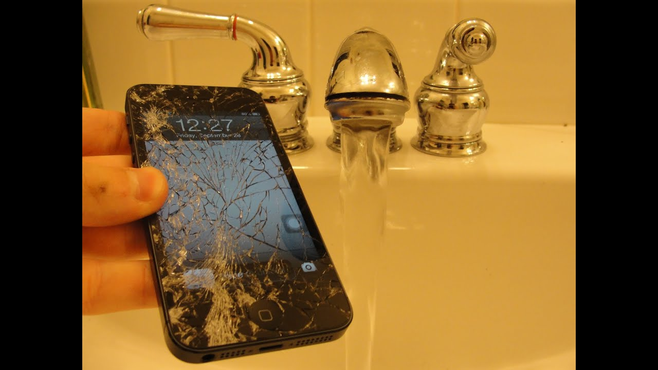 iphone fell in water iphone 5 water damage drop test episode 5 15259