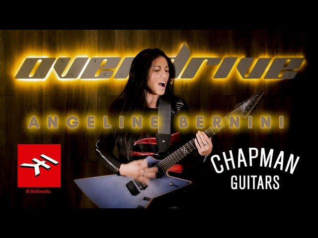 Chapman Ghostfret Demo - IK Multimedia Amplitube - Angeline Bernini