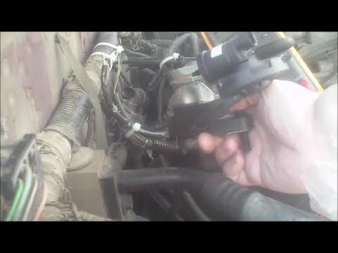 egr valve and egr solenoid replacement youtube rh youtube com