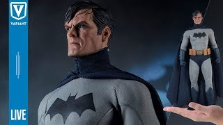 Variant LIVE: Sideshow Exclusive 1/6 Batman Unboxing!