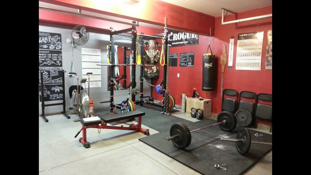 Garage Gym Tour Pando 39 S Barbell Club Youtube